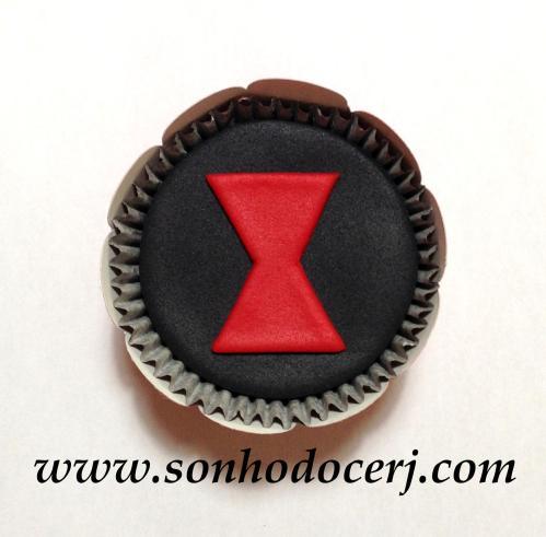 Cupcake Viúva Negra! ()