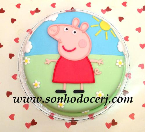 Bolo Peppa Pig! (Cód: B202)