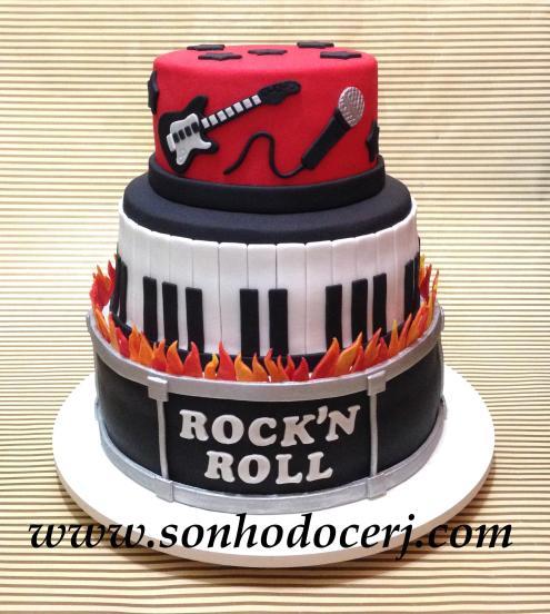 Bolo Rock'n Roll! (Cód: B204)