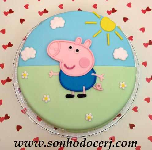 Bolo George Pig! (Cód.: B218)