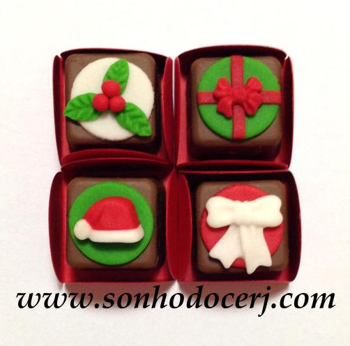 Bombons Modelados Natal!