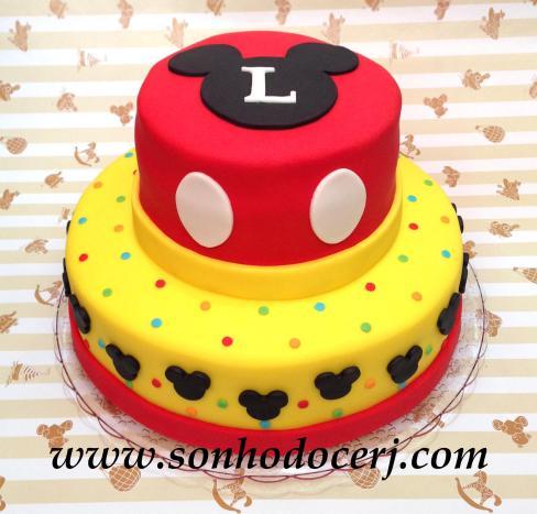 Bolo Mickey! (Cód: B0200)