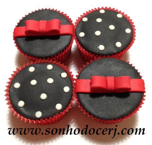 Cupcakes que combinam perfeitamente com o tema