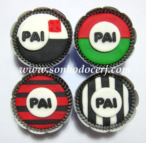 Cupcakes Dia dos Pais – Times de Futebol! (B)