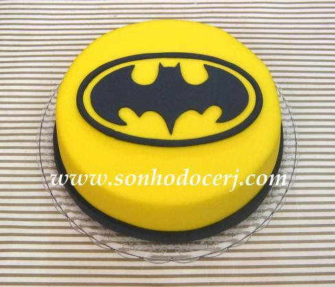 Bolo Batman (símbolo)!