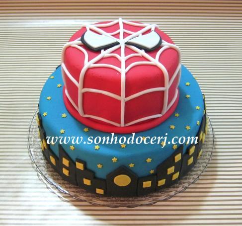 Sonho doce bolos e doces personalizados pgina 15 bolo homem aranha altavistaventures Gallery