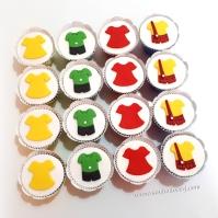Cupcakes Turma da Mônica!! Detalhes!