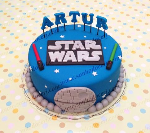 Bolo Star Wars! (Cód.: B240)