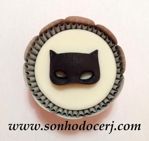 Cupcake Mulher Gato! (C)