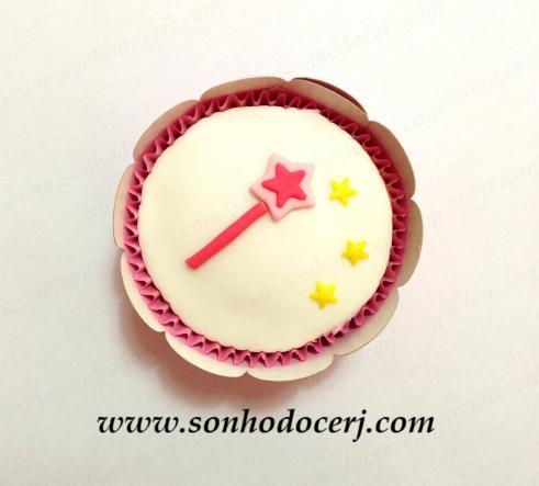 Cupcake Varinha de condão! (D)
