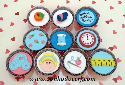 Cupcakes Cinderela!