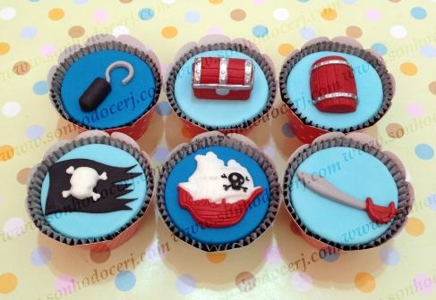 Cupcakes Piratas!