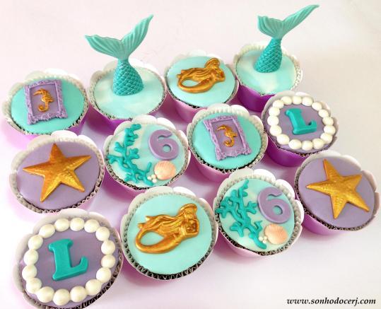 Blog_Cupcakes_Pequena sereia_Ariel_0828[2]