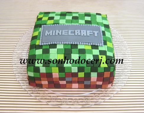 Bolo Minecraft!