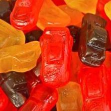 Bala de gelatina - Carros