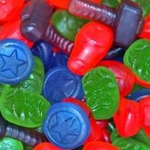 Bala de gelatina - Vingadores