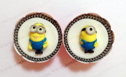Cupcakes Minions 3D! (H)