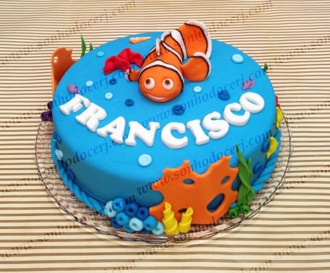 Bolo Procurando Nemo! (Cód.: B239)