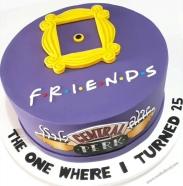 """Bolo """"Friends""""! (Cód.: B269)"""