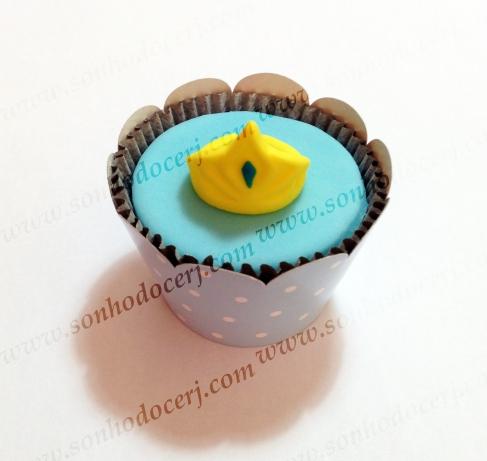 Cupcake Frozen! Coroa 3D ()