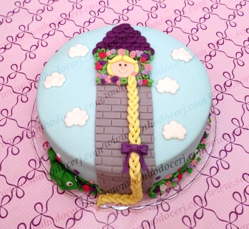 Bolo Enrolados / Rapunzel (Cód.: B241)