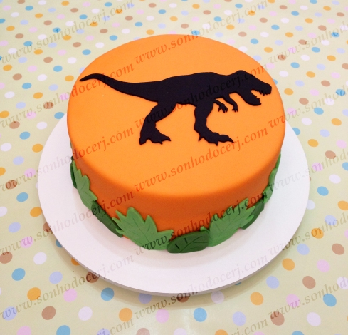Bolo Dinossauro! (Cód.: B242)