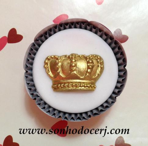 Cupcake Coroa Real! (C)