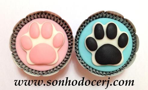 Cupcake pegada! ()