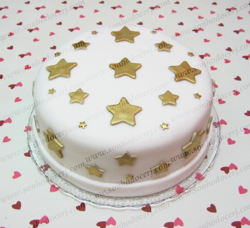 Bolo Estrelas! (Cód.: B243)