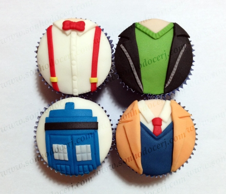 Cupcakes Dr. Who!