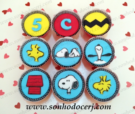 Cupcakes Snoopy!