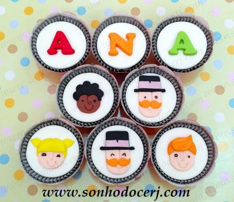 Cupcakes Bita e os animais!